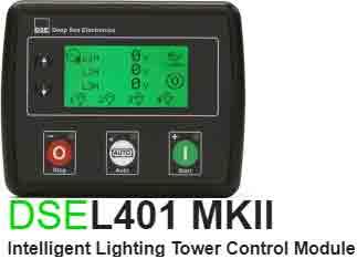 برد کنترلی plc دیزل ژنراتوردیپسی مدل dse l401