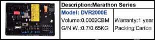 رگولاتور ژنراتورMARATHON DVR2000E