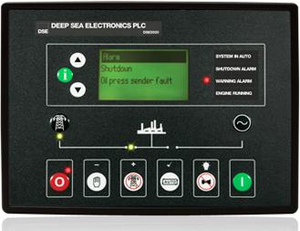 برد کنترلی plc دیزل ژنراتوردیپسی مدل 5520