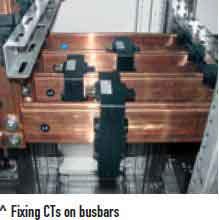 CT قابل نصب بر روی شینه مسی - CT شمش