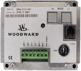 گاورنر دیزل ژنراتور مدل وودوارد WOODWARD