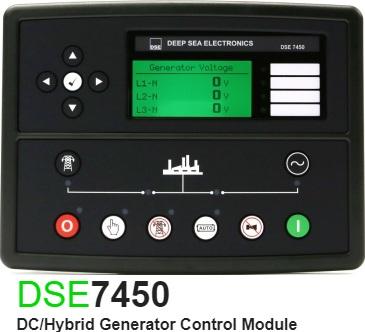 برد کنترلی plc دیزل ژنراتوردیپسی مدل dse 7450