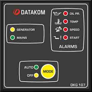 برد کنترلژنراتوردیتاکام (datakom)مدلDKG-107
