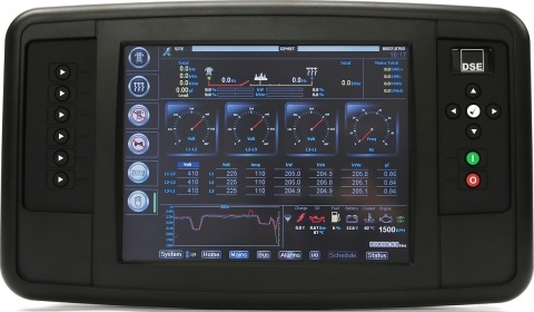 برد کنترلی plc دیزل ژنراتوردیپسی مدل dse 8004