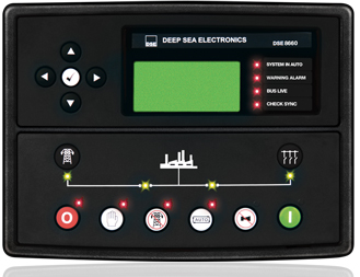 برد کنترلی plc دیزل ژنراتوردیپسی مدل 8660