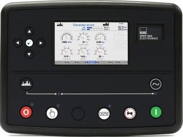 برد کنترلی plc دیزل ژنراتوردیپسی مدل dse 8810