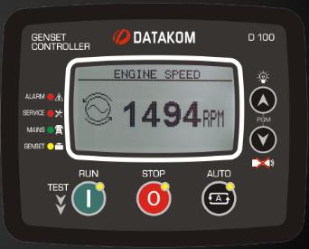 نماندگی برد کنترلی plc دیزل ژنراتوردیتاکام (datakom)مدلD-100