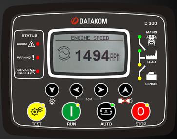 برد کنترلی plc دیزل ژنراتوردیتاکام (datakom)مدلD-300