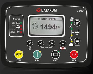 برد کنترلی plc دیزل ژنراتوردیتاکام (datakom)مدل D-500lite