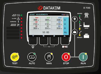 برد کنترلی plc دیزل ژنراتوردیتاکام (datakom)مدلD-700