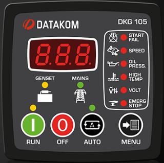 برد کنترلی plc دیزل ژنراتوردیتاکام (datakom)مدلDKG-105