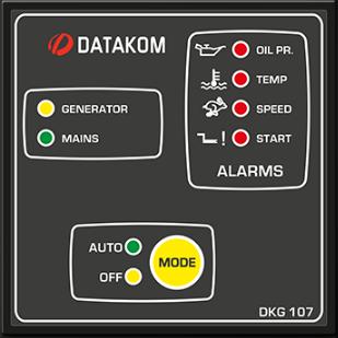 برد کنترلی plc دیزل ژنراتوردیتاکام (datakom)مدلDKG-107