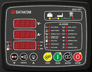 برد کنترلی plc دیزل ژنراتوردیتاکام (datakom)مدلDKG-307