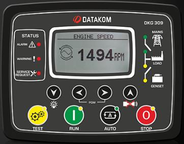 برد کنترلی plc دیزل ژنراتوردیتاکام (datakom)مدلDKG-309