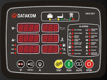 برد کنترلی plc دیزل ژنراتوردیتاکام (datakom)مدلDKG-507