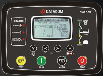 برد کنترلی plc دیزل ژنراتوردیتاکام (datakom)مدلDKG-509