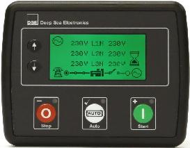 برد کنترلر کنترلدیزل ژنراتوردیپسی مدل dse 4520 و dse4520 mkii