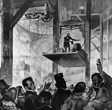 الیشا اوتیس سیستم ایمنی خود را نشان داد، کریستال پالاس، 1854