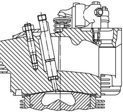 سیستم تزریق مستقیمB/FL 914 دویتس-سیستم تزریق سوخت موتور دیزل دویتس-نقشه سیستم تزریق سوخت دویتس