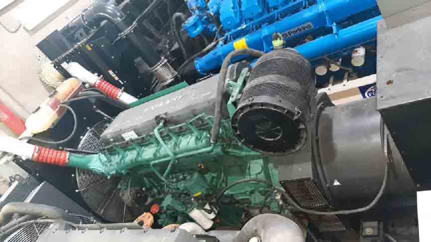 volvo 1643 generator stoke 600kva - دیزل ژنراتور دست دوم