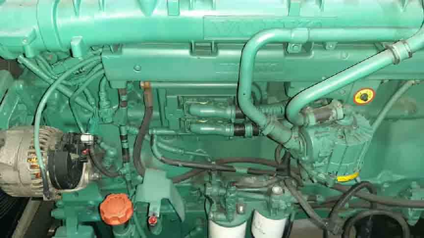volvo 1643 generator stoke 600kva - ژنراتور ولوو