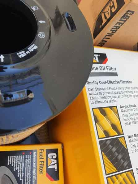 لوازم اصلی موتور دیزل ژنراتور کاترپیلار - caterpillar 3512 overhaul - تعمیر اساسی اورهال دیزل ژنراتور کاترپیلار 3512