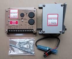 یک ست کنترلر سرعت دیزل ژنراتور (گاورنر،اکچویتور و پیکاپ)