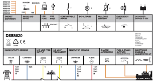 dse 8620 mkii - مشخصات کاتالوگ و وایرینگ برد دیپسی DSE 8620 wiring diagram catalog operation manual
