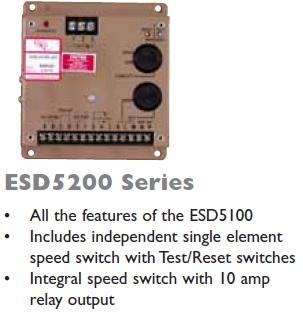 گاورنر GAC مدل ESD5200