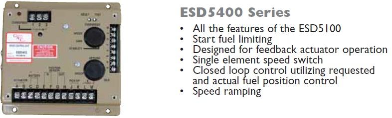 گاورنر GAC مدل ESD5400