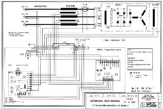 کاتالوگ نقشه راهنمای نصب رگولاتور sx460 avr