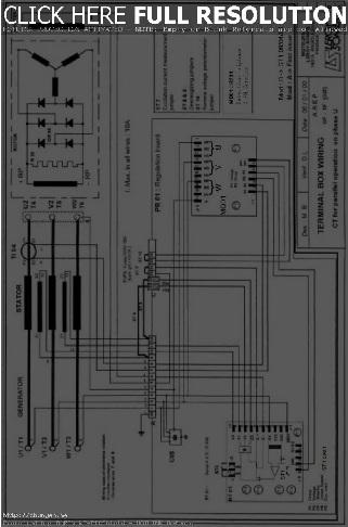 نقشه سیم کشی avr وایرینگ دیاگرام ای وی آی رگولاتور ولتاژ