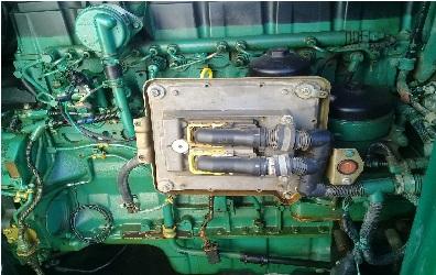 دیزل ژنراتور ولوو VOLVO734  با کانوپی و تابلو کنترلی با برد کومپ 270KVA با برگ سبز کانوپی دار - دیزل ژنراتور