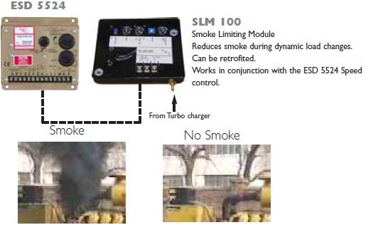 خفه کننده دود خروجی دیزل ژنراتور GAC مدل SLM100